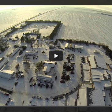 Idalia Winter Aerial Video